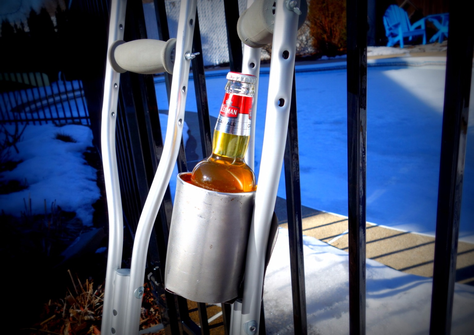 Picture of The Ambulant Crutch Cup Holder