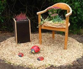 Turn an Old Chair Into a Flowerchair