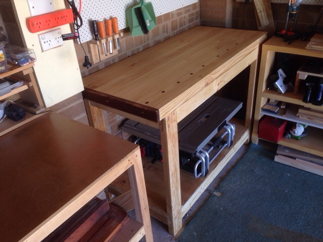 Picture of Carpenter's Workbench Build