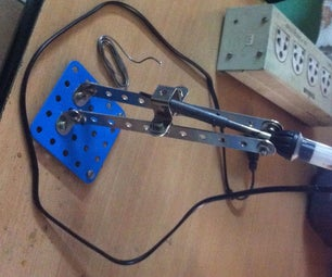 Cheap Efficient Soldering Iron Stand