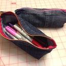 Jeans Cuff Pencil Case