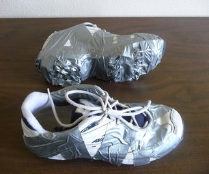 Duct Tape Cleats for Ice, Snow or Play.