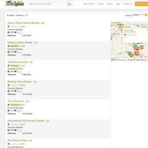 Resources for Eating Locally
