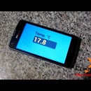 Temperature sensor output values on Android smartphone