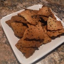 Roasted Garlic and Herb Crackers