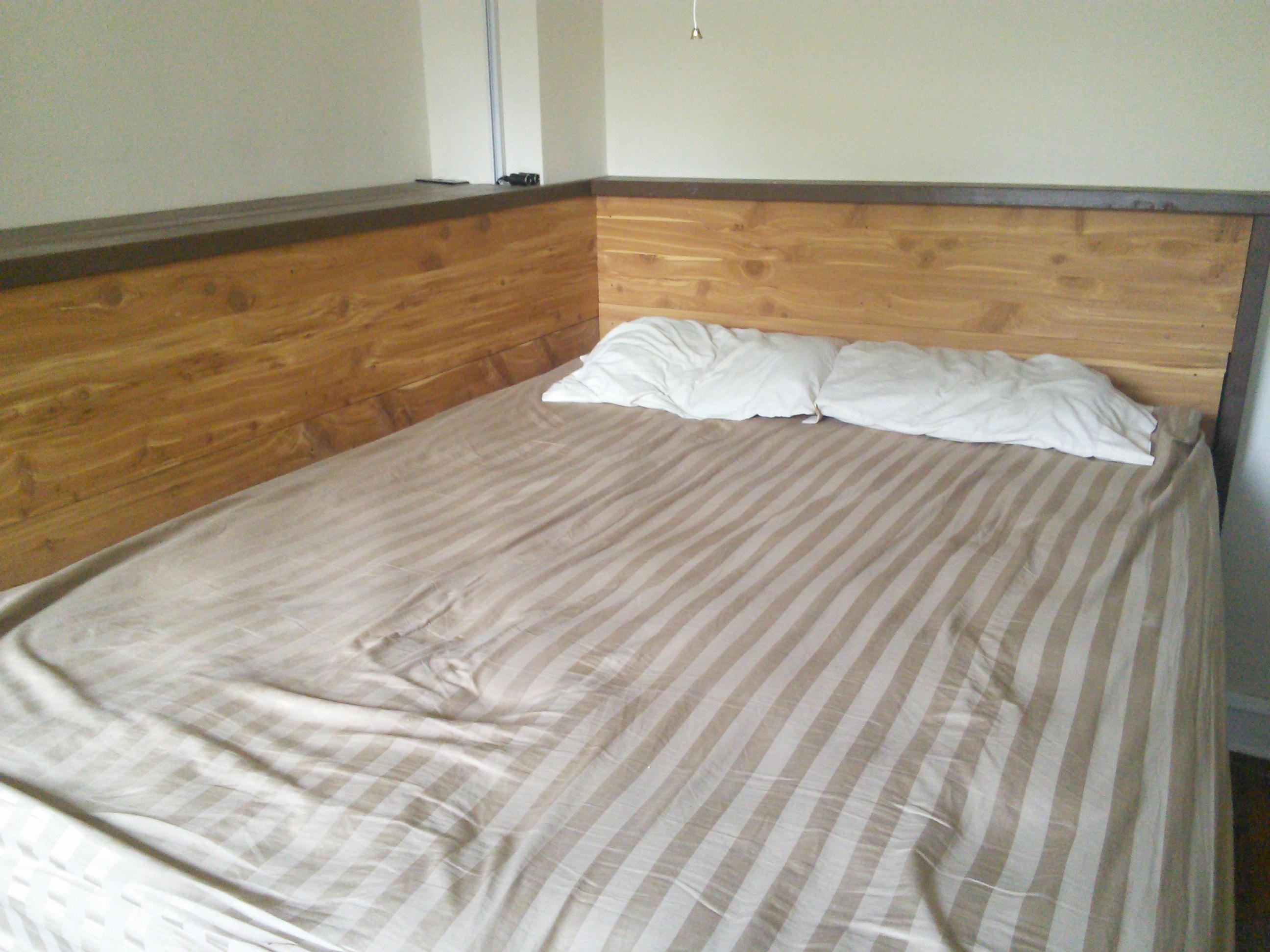 Picture of Cedar-Planked Platform Bed Frame