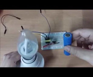 How to Make Convert DC to AC Using Mini-step Up Transformer