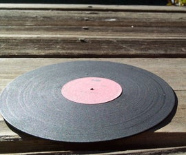 Small Vinyl Records From CDs