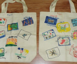 Lilburn Day Camp Art Gallery Tote Bag