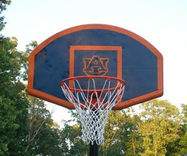 Paint Your Own Basketball Goal
