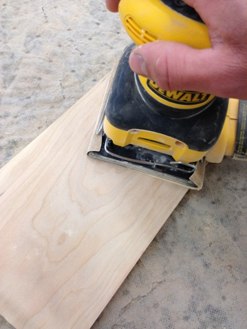 Picture of Cutting the Wood: