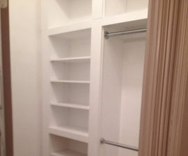 Closet with Hidden Safe Room