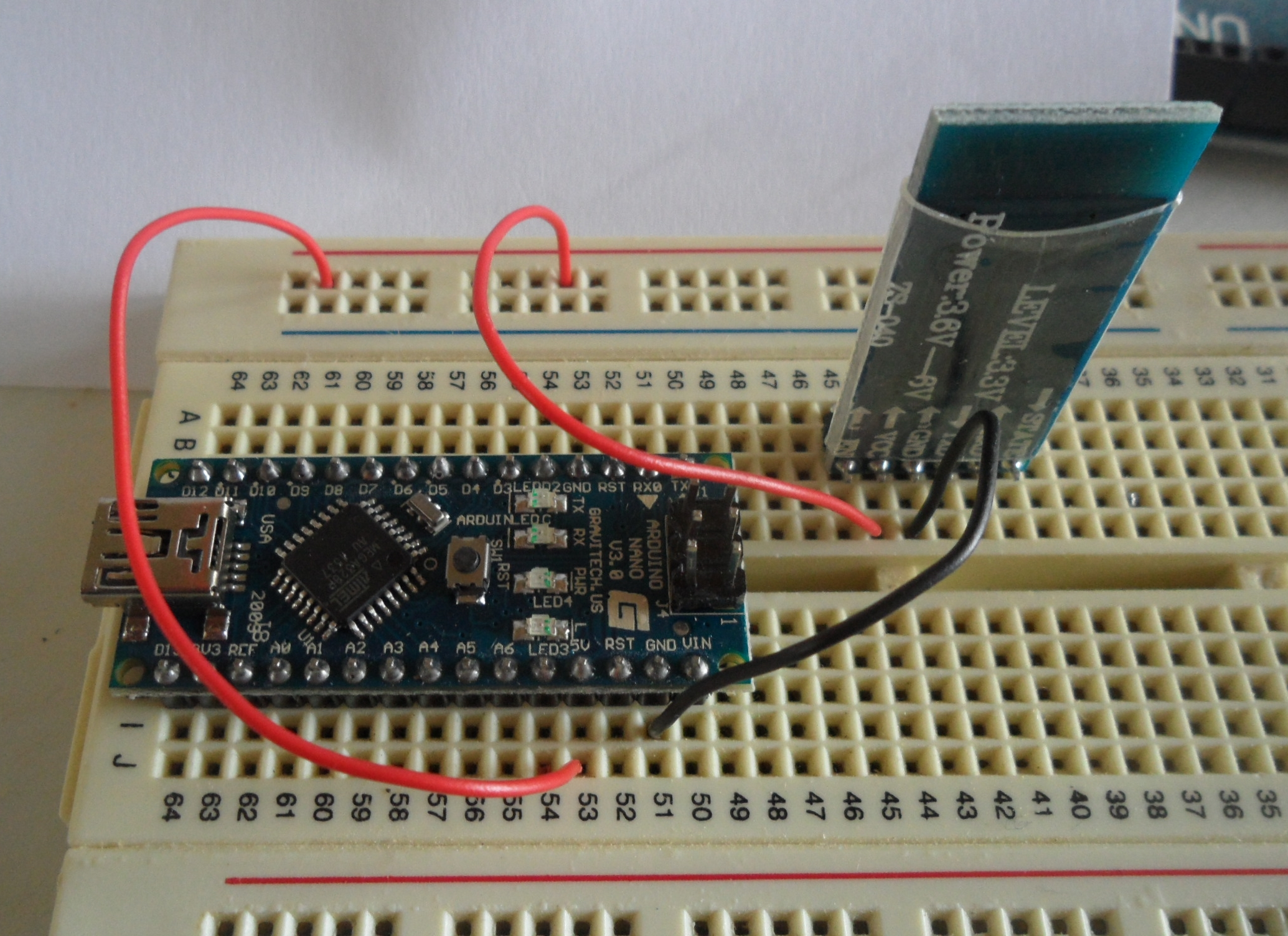 Picture of Test the Bluetooth Module
