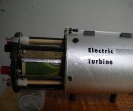 Electrostatic Turbine: Basic & Enhanced Versions