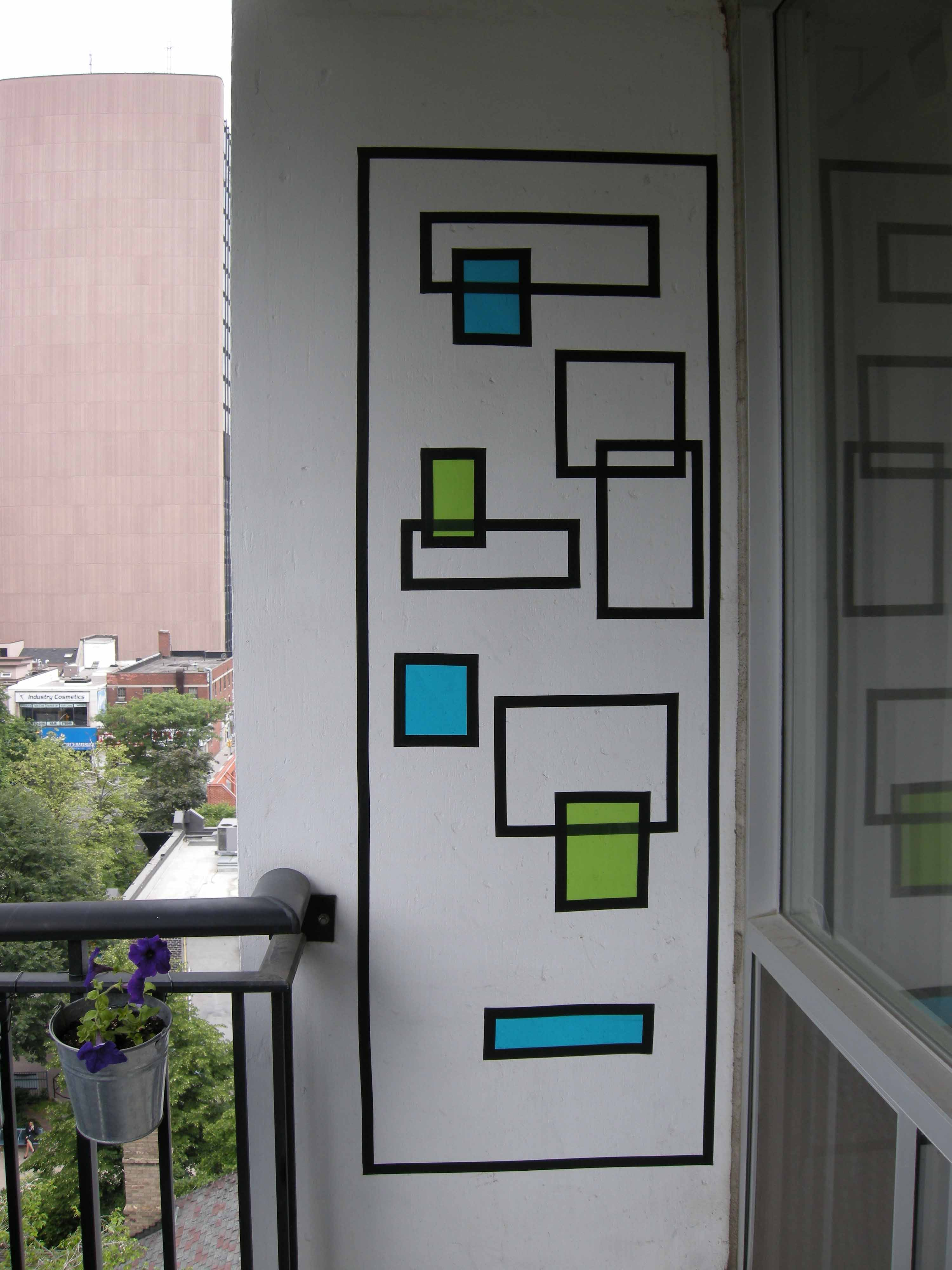 Picture of How to Create Wall Art With Electrical Tape