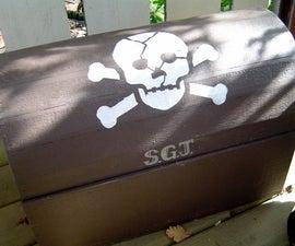 Pirate's treasure chest