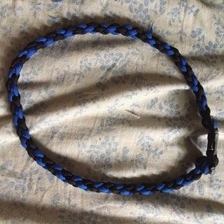 4 Strand Round Braid Necklace