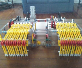 Programmable Knex Piano-Playing Robot