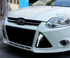 How To Install Ford Focus LED Daytime Running Lights