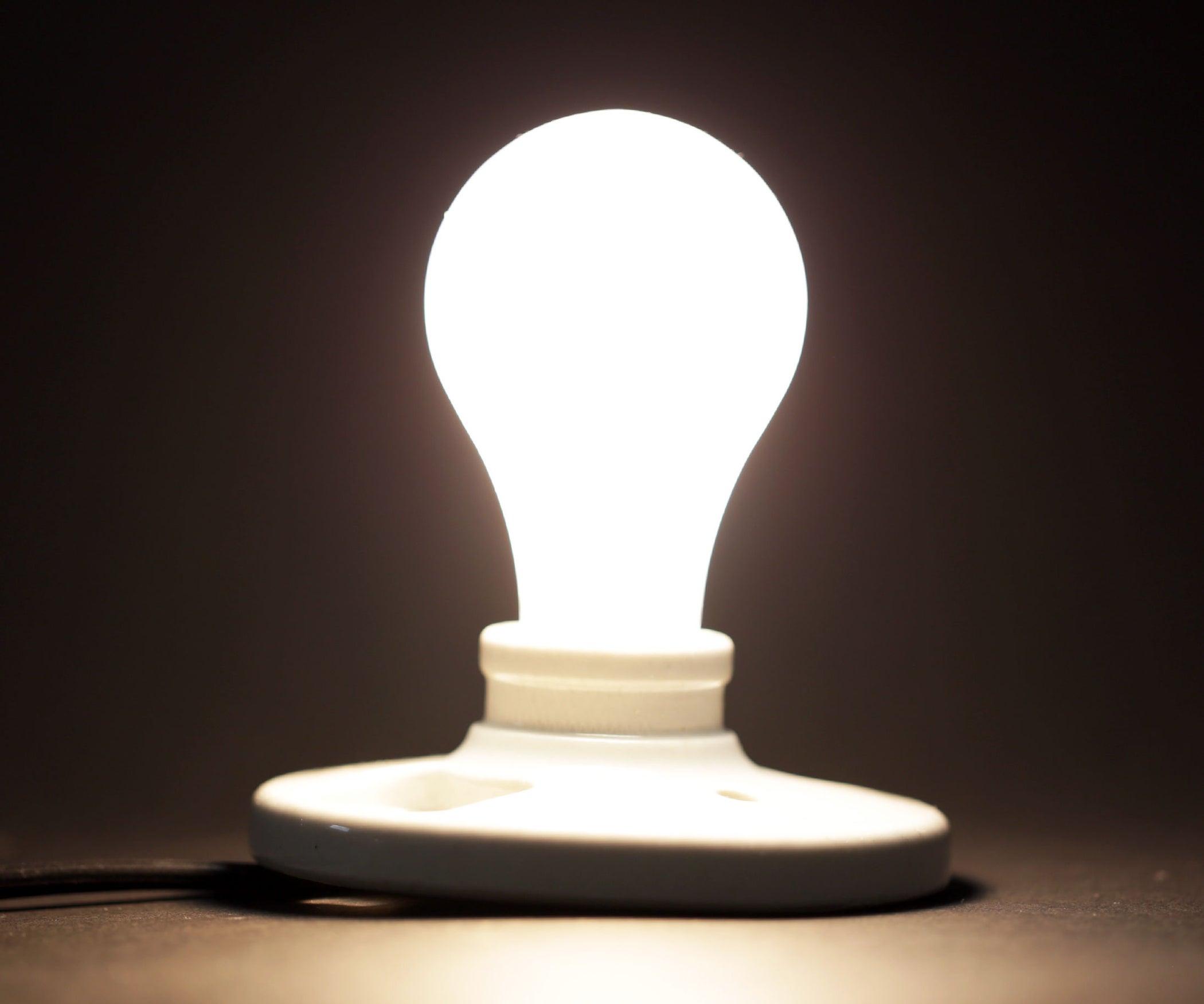 Light Bulbs Circuit For 5v Led Dimmer Touch