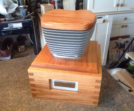 Hand-Made Urn For My Dad.