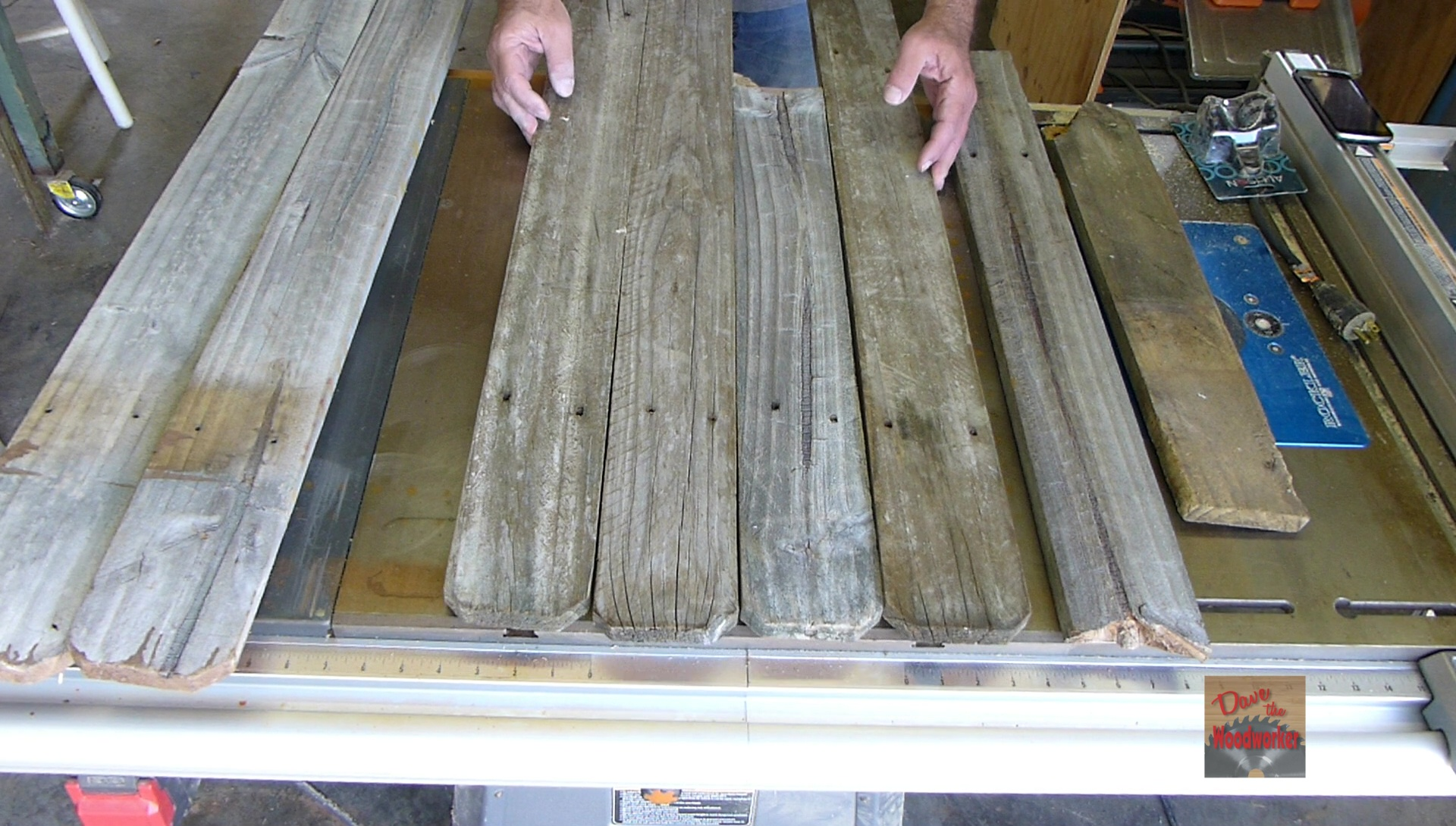 Picture of Cut Fence Boards