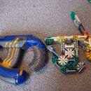 Two k'nex halo Covenant guns.