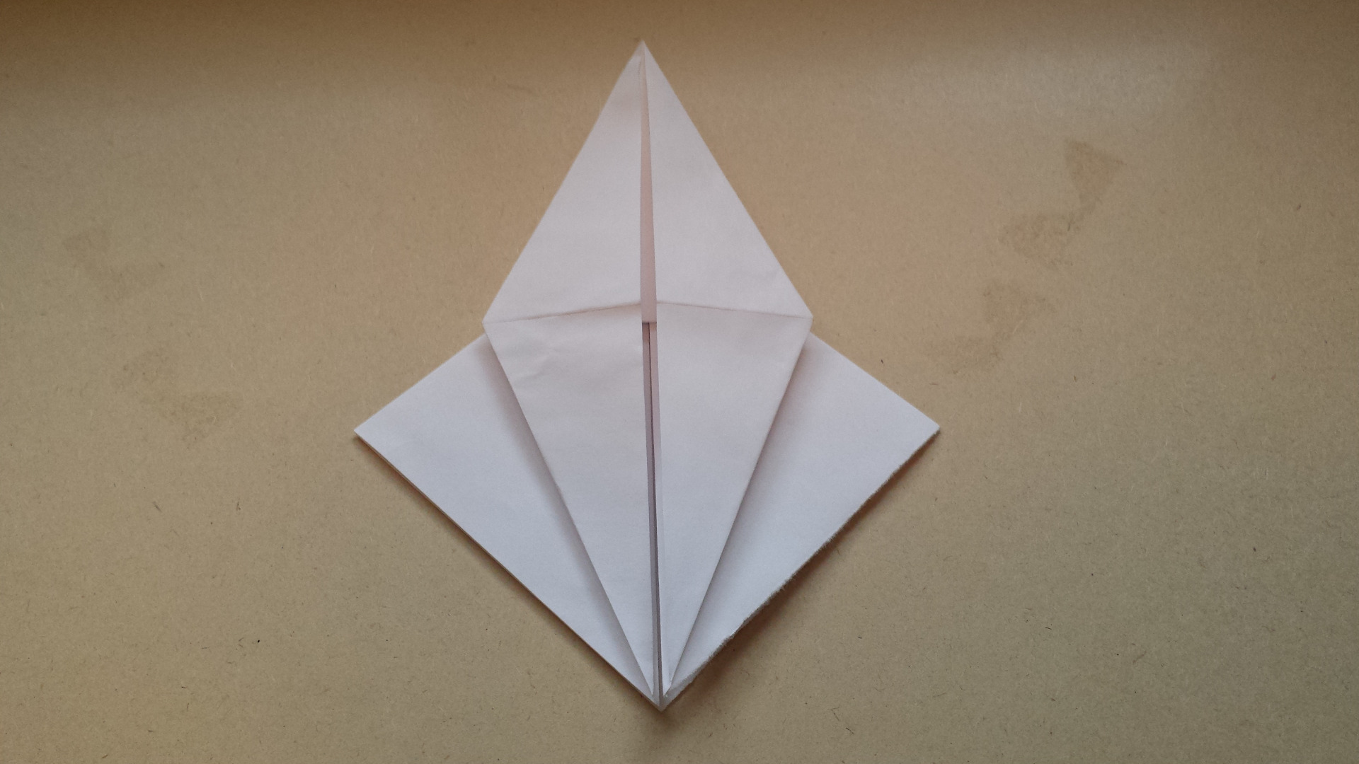 Picture of Carefully Unfold Paper Upwards
