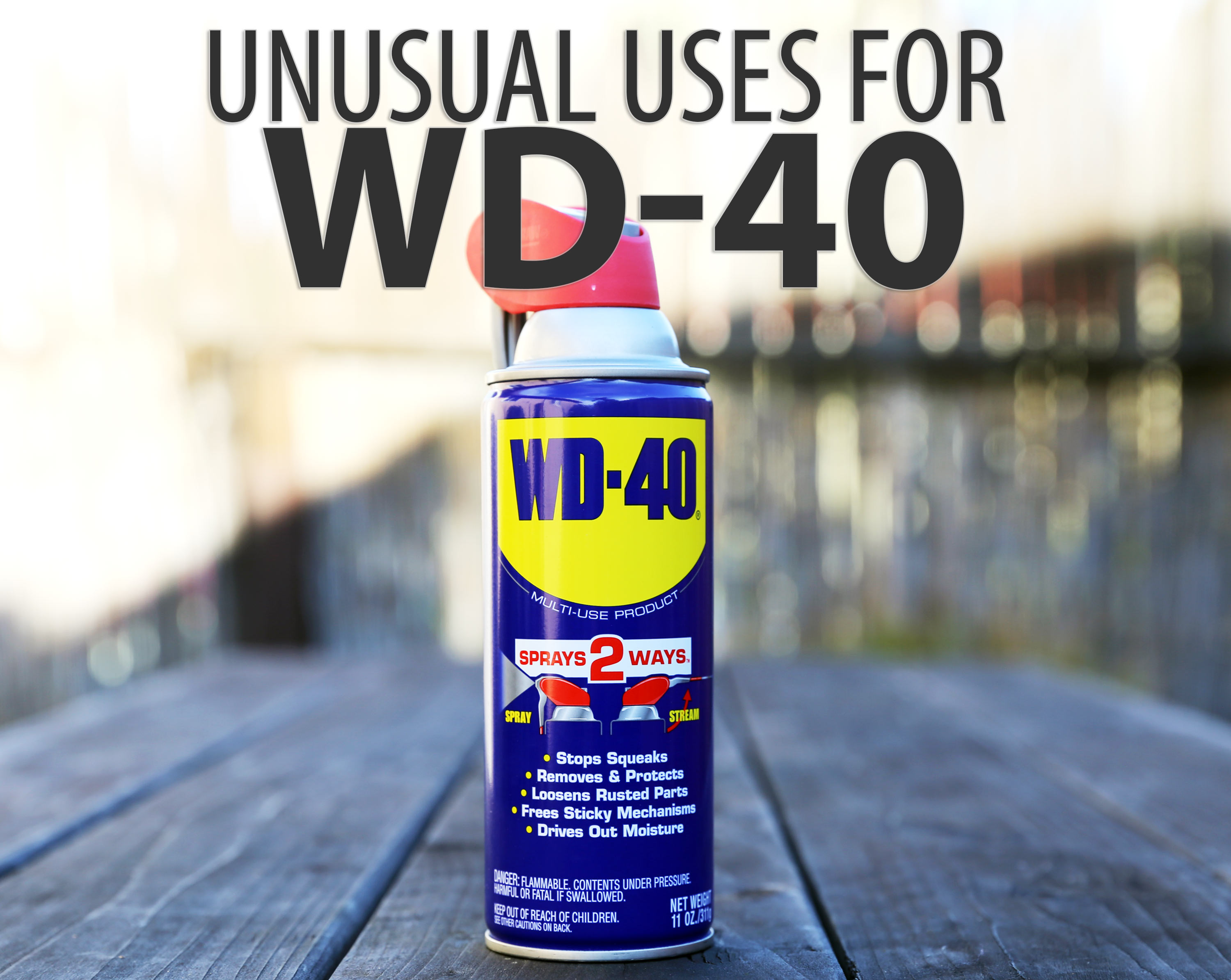 Picture of Unusual Uses for WD-40