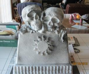 Bone Stone Grave Marker