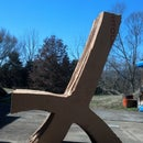 Cantilevered Cardboard Chair