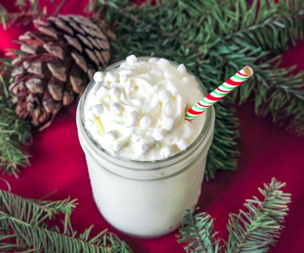 White Christmas Frappuccino Recipe