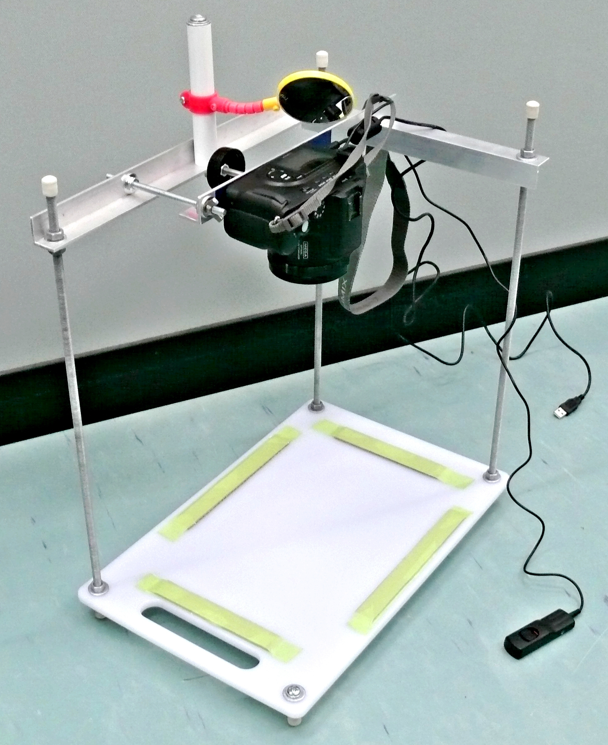 Picture of Copy Stand - Cheap and Easy to Build