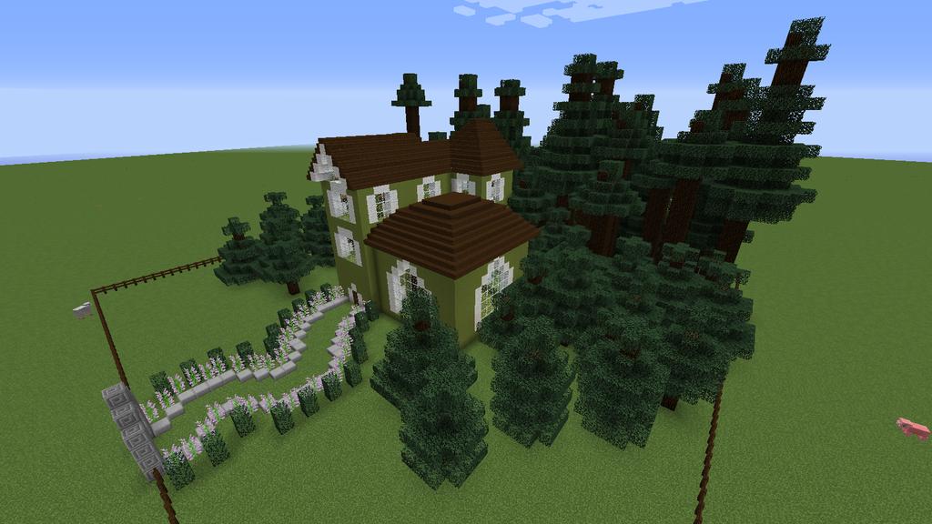 Minecraft Mansion 6 Steps Instructables