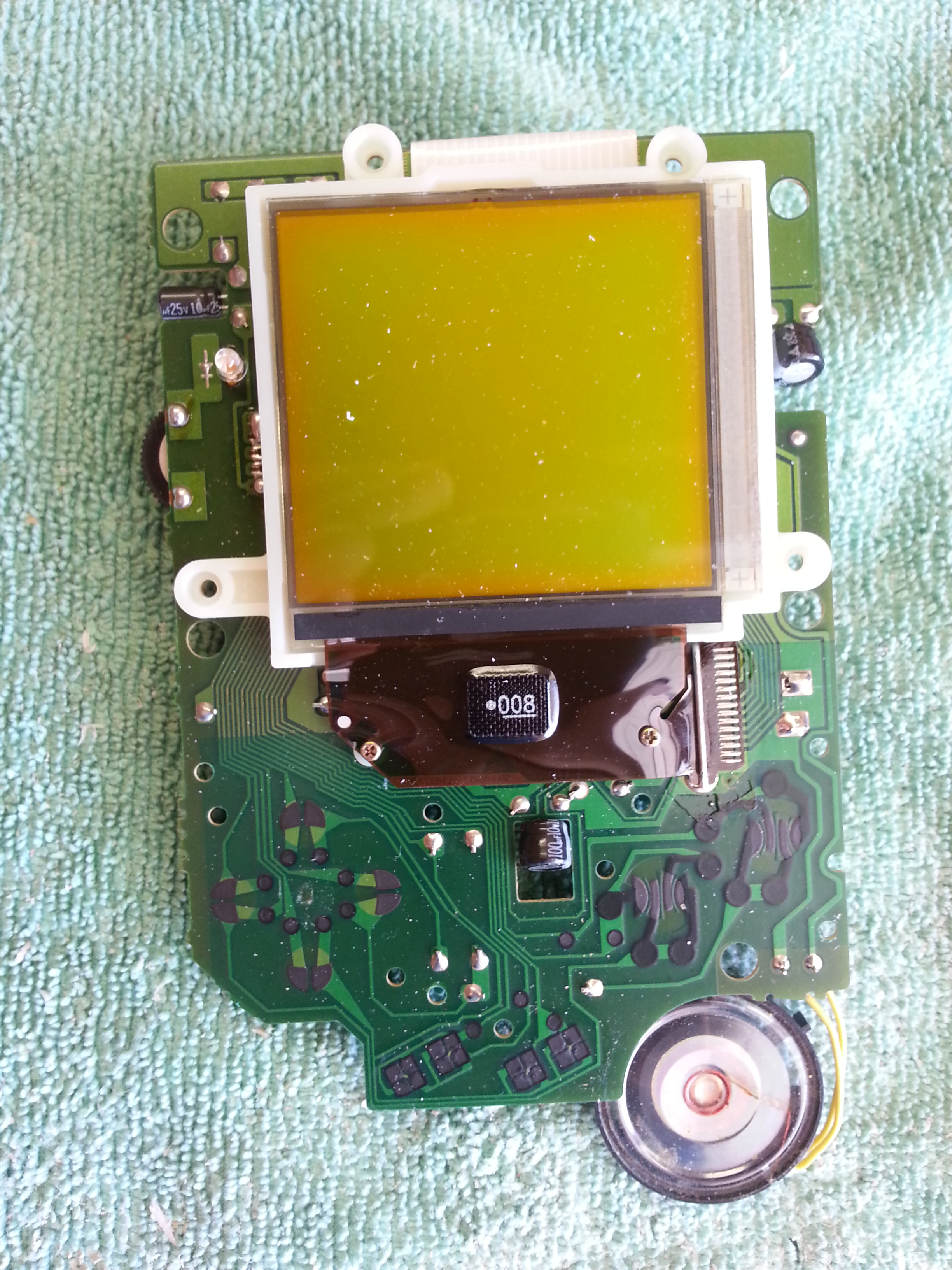 Picture of Game Boy Mod - Front Circuits
