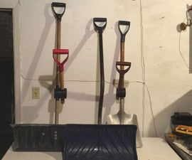 Transform Your Old Snow Pusher or Snow Shovel In An Ergonomic Tool for gift
