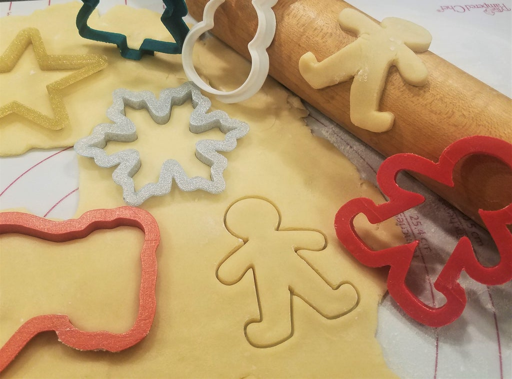 Design 3d Print Your Own Christmas Cookie Cutters Using Tinkercad
