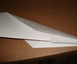 An Simple Air Plane Anyone Can Make