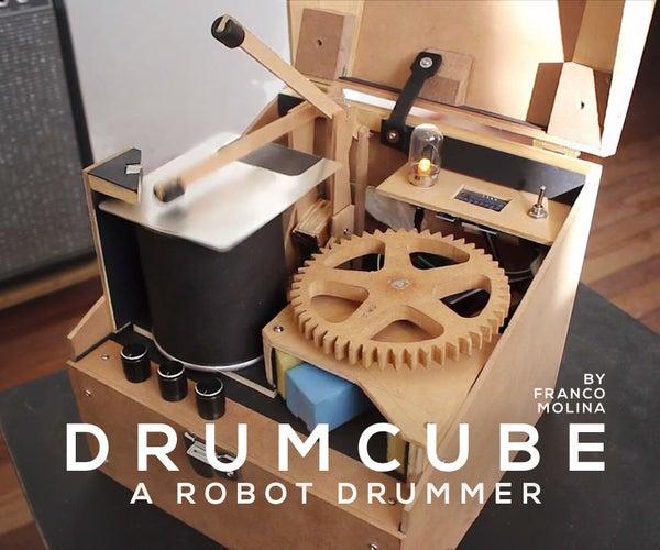 DrumCube, an Arduino Robot Drummer