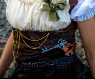 Steampunk Costume Corset