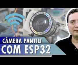PANTILT Camera With ESP32