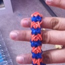 How To Make Rainbow Loom Double X Cross