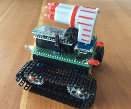 Tiny Smartphone Controlled Arduino Tank