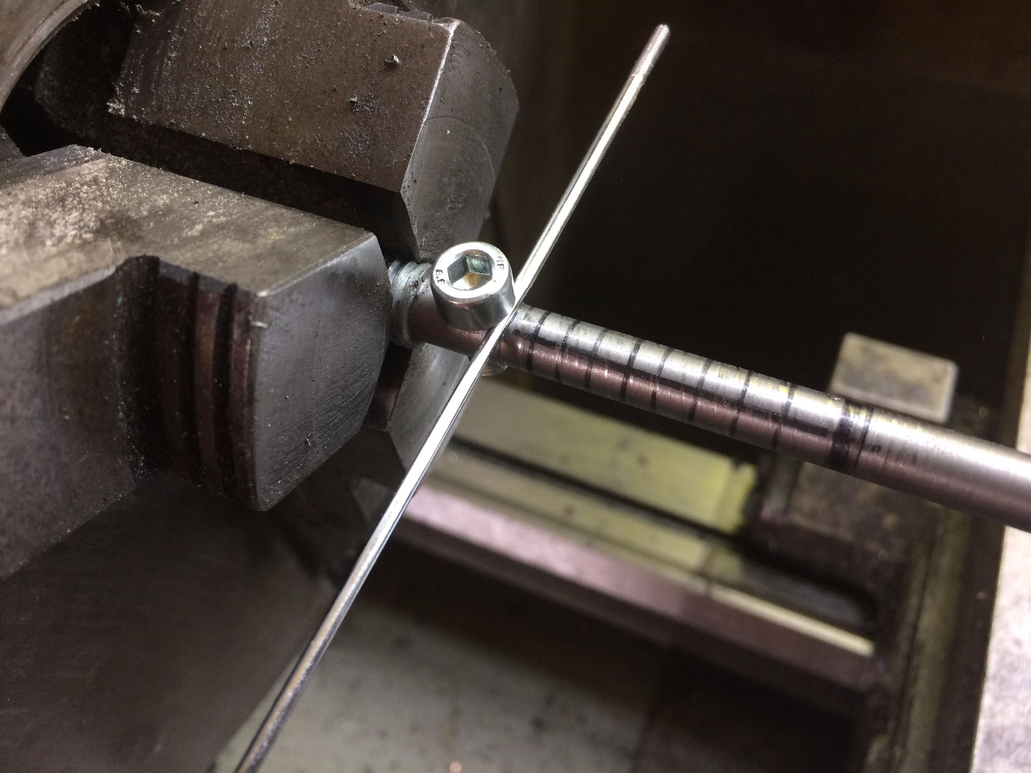 Picture of Machining the Aluminium Parts and Springs