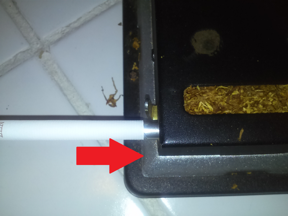 Picture of Align the Filter Tube