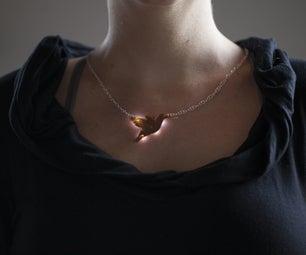 Light-Up PCB Necklace V2