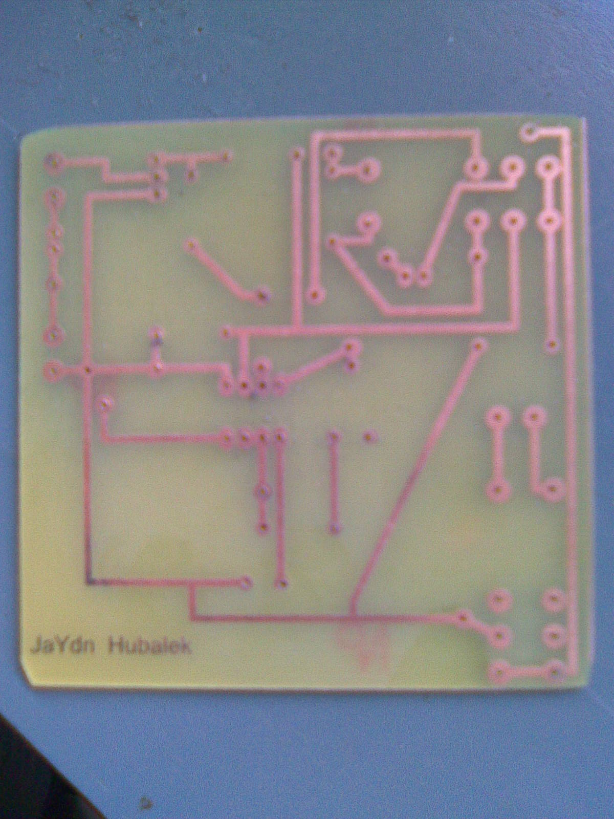 Picture of Components and Pcb