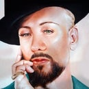 How to Paint Boy George