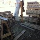 Pallet Lumber Sorting Rack