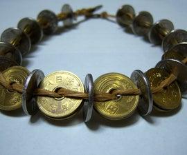 The 895 Yen Choker - Japanese coin necklace
